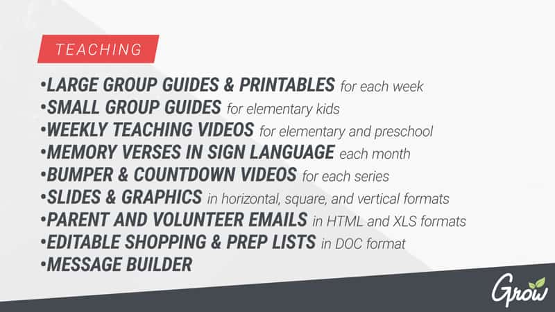 Grow Youth Ministry Curriculum: Parents